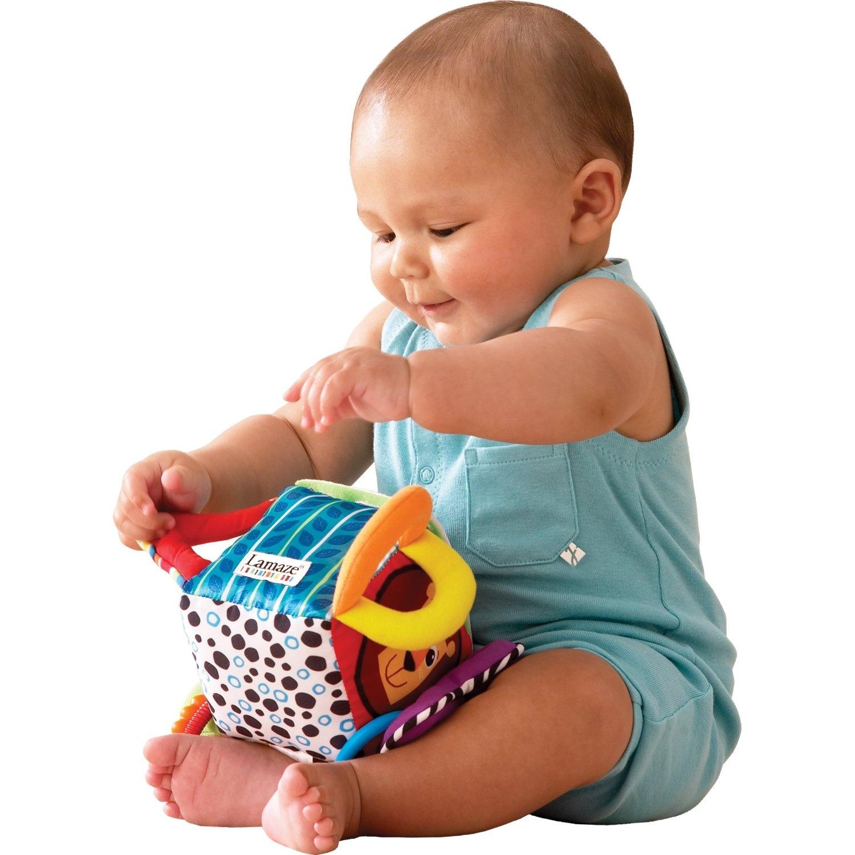 Newborn Baby Toys : Lamaze clutch cube street malaysia early learning