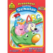 School Zone Publishing Preschool Scholar Workbook