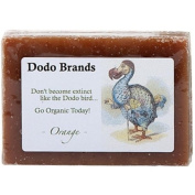Dodo Brands Organic Orange Cinnamon and Olive Mud Soap, 100ml
