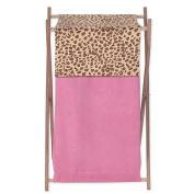 JoJo Designs Cheetah Girl Collection Laundry Hamper