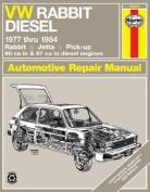 Volkswagen Rabbit Diesel 1977-84, Rabbit, Jetta Pick-up Owner's Workshop Manual
