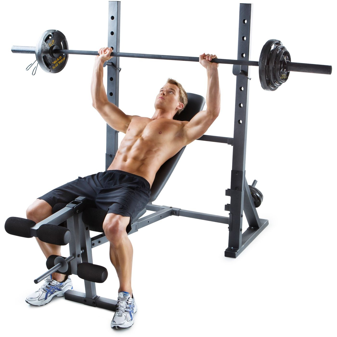 gold s gym xr 10 1 olympic weight bench ebay