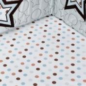 Pem America Mod Star Fitted Crib Sheet
