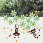 Wee Gallery 4926607 Wall Graphics Mango Tree Monkey
