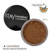 Itay Beauty 100% Natural Mineral Foundation Colour :Mf-9 Taramisu + Longlasting Black Eye Liner