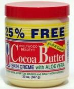 Hollywood Beauty Cocoa Butter & Aloe Vera Skincare Creme - 590ml
