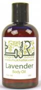 Lavender Body Oil 120ml By mukhallat