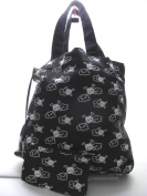Huge Gosset Skull Grocery Everything Nappy Bag with Little Personal Bag Inside