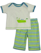 Cloud Mine - Newborn Boys Short Sleeve Pant Set