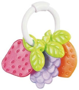 Tigex Classic Flexible Teething Ring Fruit / Keys