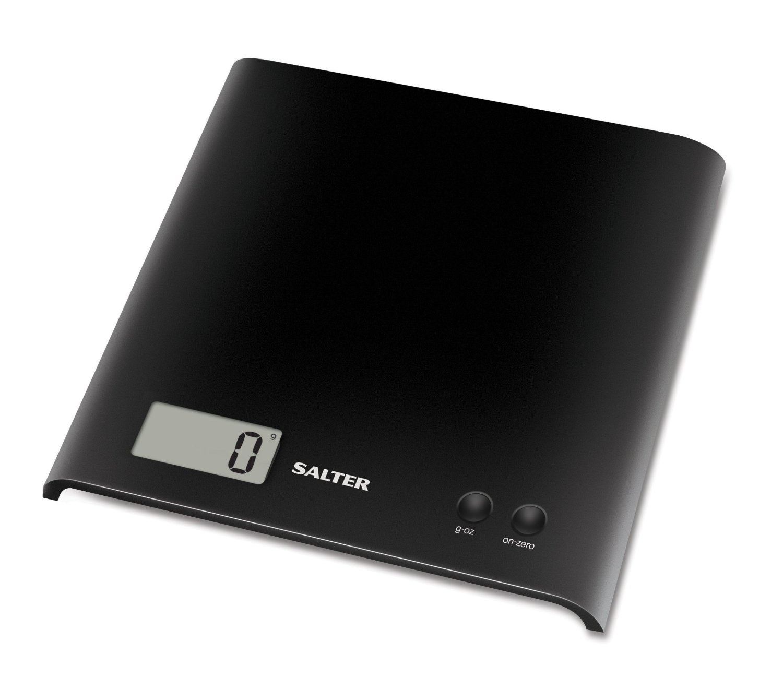 Salter Black Electronic Platform Kitchen Scale 11street