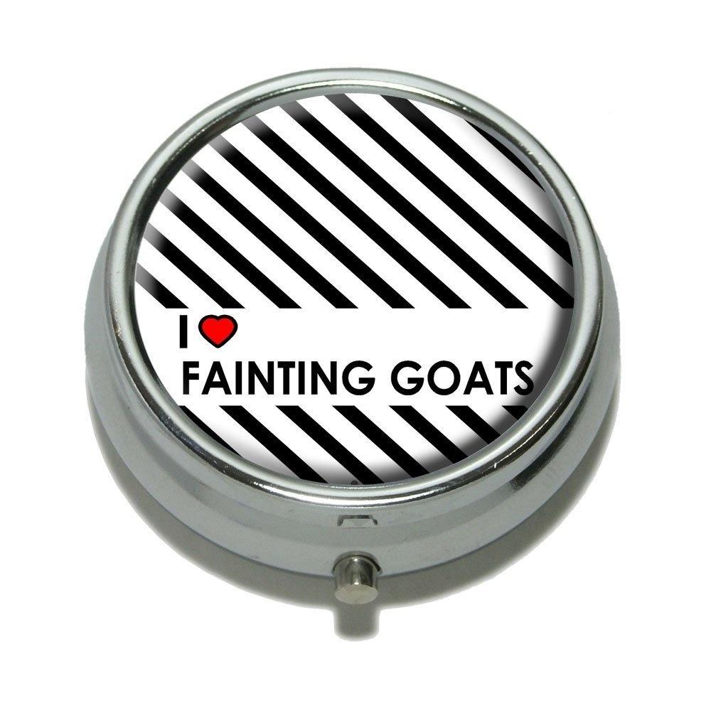... Love Heart Fainting Goats Pill Case Trinket Gift Box. Free Shipping