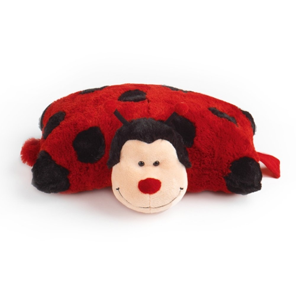 Travel Pillowheads Soft Toy Cushion - Ladybird 11street Malaysia - Pillows & Bolsters