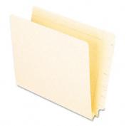 3.8cm Expansion Folders, Straight Cut End Tab, Letter, Manila, 50/Box