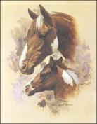 Horse Portrait II Paper Tole 3D Kit 8x10