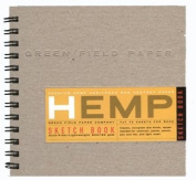 Hemp Heritage Sketch Book, 18cm x 18cm