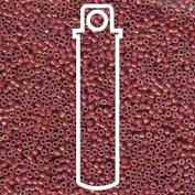 Metallic Rhubarb Lustre (Db1016) Delica Myiuki 11/0 Seed Bead 7.2 Gramme Tube Approx 1400 Beads