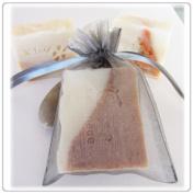 30 Silver Wedding Organza Favour Gift Bags 10cm x 15cm