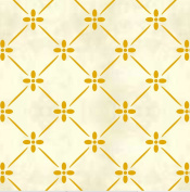 Faux Like a Pro Provence Trellis Stencil, 27cm by 27cm , Single Overlay
