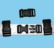 50cm - 1.6cm Contoured National Moulding Plastic Buckles