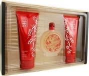 Lucky Number 6 By Lucky Brand For Women, Set-eau De Parfum Spray, 100ml Bottle & Body Milk 200ml Bottle & Shower Gel, 200ml Bottle