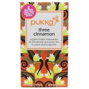 Pukka Herbs - Organic Indian, Indonesian & Vietnamese Cinnamon Tea Three Cinnamon - 20 Tea Bags