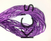 50 Yards - 2mm Purple Satin Rattail Cord Chinese/china Knot Rat Tail Jewellery Braid 100% Polyester