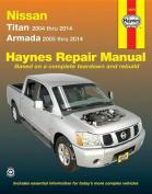fits Nissan Titan and Armada 2004 Thru 2014