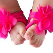 Baby Infants Barefoot Flower Socks Sandals Shoes