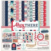 Carta Bella Paper Company CBAT29016 Ahoy There Collection Kits Scrapbook