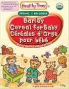 Baby Cereal Barley (227g) Healthy Times Brand