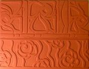 Flower Rubber Texture Mat