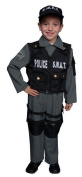 Dress up America Toddler T2 Deluxe Children's S.W.A.T. Police Officer Costume Set