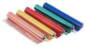 Coloured Aluminium Foil - 38 Gauge - 30cm x 7.6m - Blue