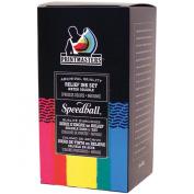 Speedball Printmasters Professional Relief Ink Set