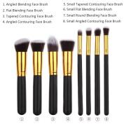 Makeup Brushes BESTOPE Premium Cosmetic Makeup Brush Set Synthetic Kabuki Makeup Foundation Eyeliner Blush Contour Brushes for Powder Cream Concealer Brush Kit