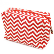 Cathy's Concepts Chevron Spa Bag, Red
