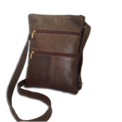 SHOULDER BAG MAN CALFSKIN BROWN VINTAGE MOD:ZIP015 20 CM WIDE X 30 CM HIGH X 4 CM DEEP