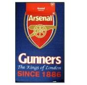 Arsenal F.C. Crest Rug