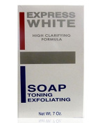 Express White High Clarifying Formula Toning Exfoliating Soap 200g - By SONIK PERFORMANCE