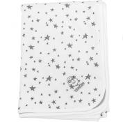 Woolino 4 Season Stroller Blanket, Merino Wool, 100cm x 80cm , Stars