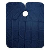 H88-Deep Blue Hair Dressing Cut Salon Barbers Nylon Gown Cape Cloth # 53A0150