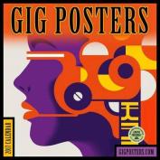 Gig Posters 2017 Wall Calendar