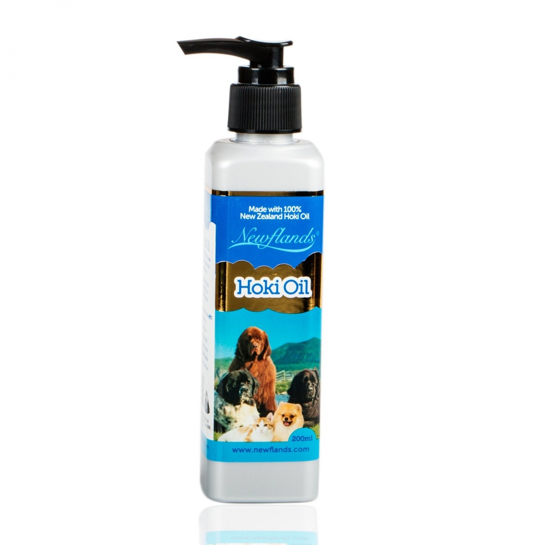 Newflands Hoki Fish Oil Food Supplement For Dogs 200ml