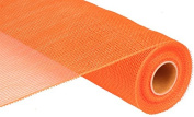 Deco Poly Mesh - Solid Orange 50cm Roll