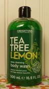 Creightons Tea Tree Lemon Deep Cleansing Body Wash, 500ml
