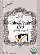 Jiva USDA Organic Black Hair Dye 100 Gramme - Chemical Free & Ecocert Certified