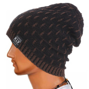 Creazy Men Women Warm Crochet Winter Wool Knit Ski Beanie Skull Slouchy Caps Hat