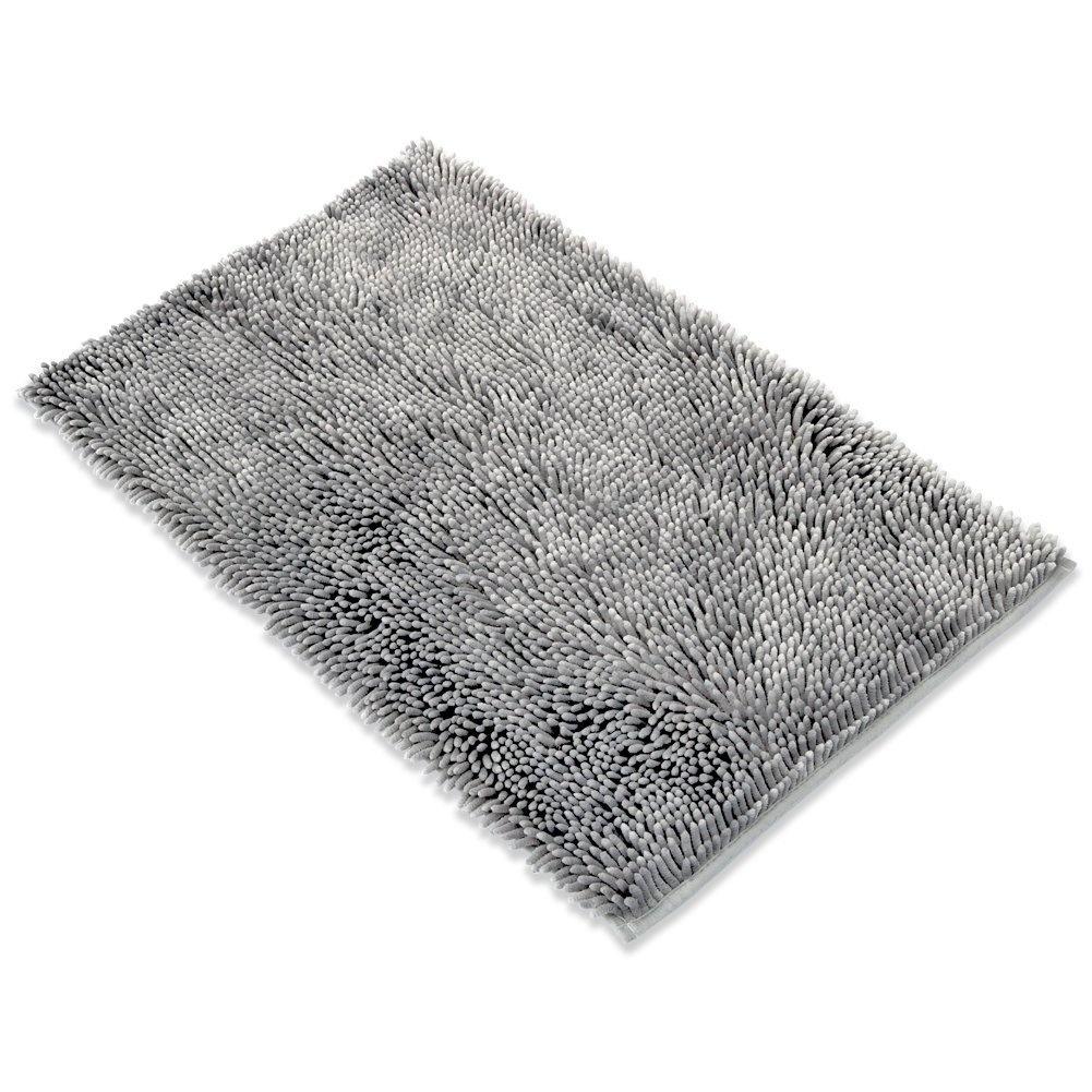 Docbear Microfiber Bath Mat Chenille Luxury Bathroom Rugs