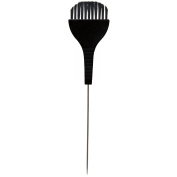 Hair Tamer Tint Brush with Metal Pin Tail